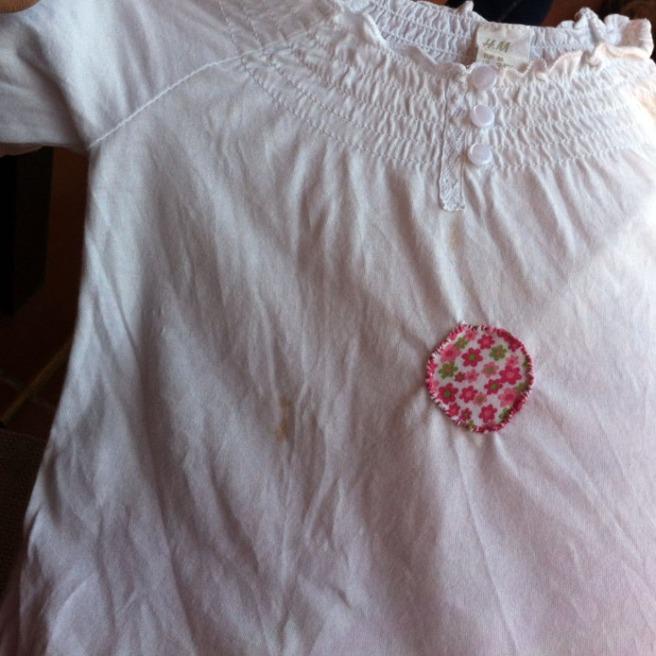 camiseta con topos 012