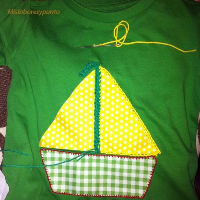 Camiseta con barco 001