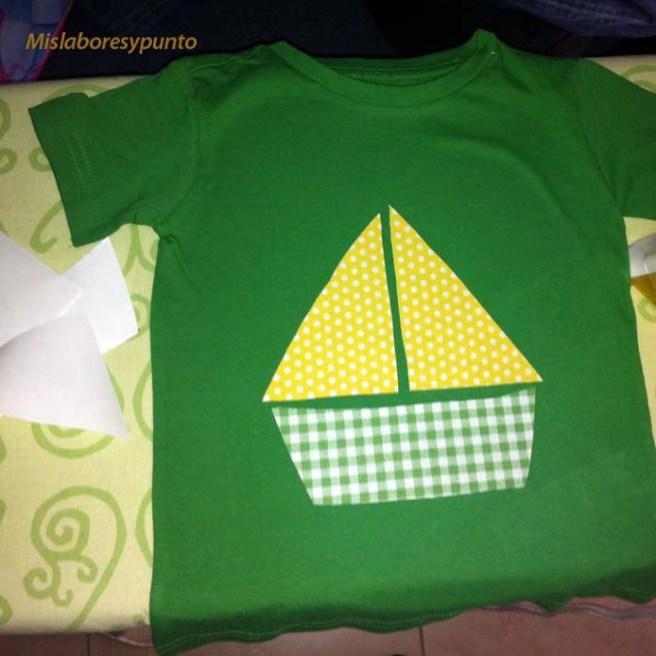 Camiseta con barco 004