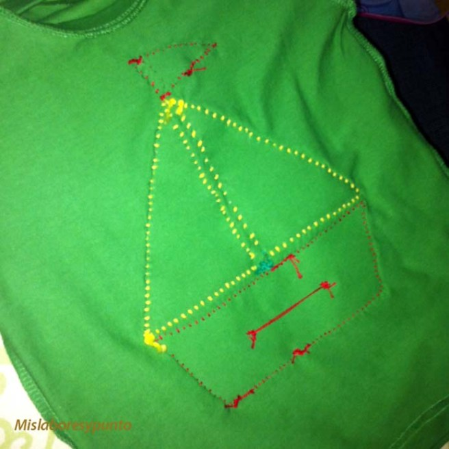 Camiseta con barco 013