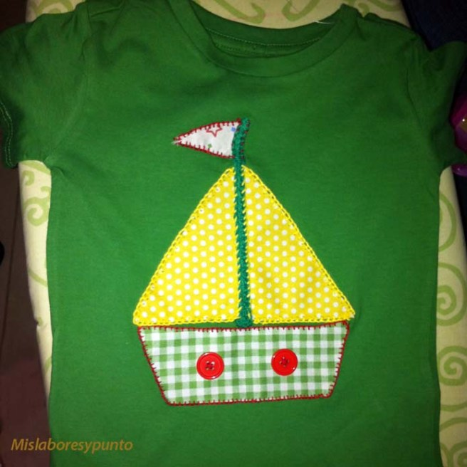 Camiseta con barco 020