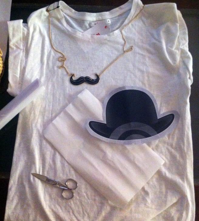 camiseta bombín 9