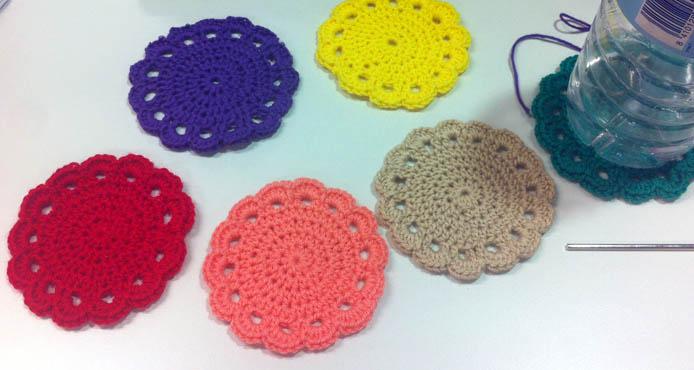 Patrones posavasos crochet imagui - Como hacer posavasos ...