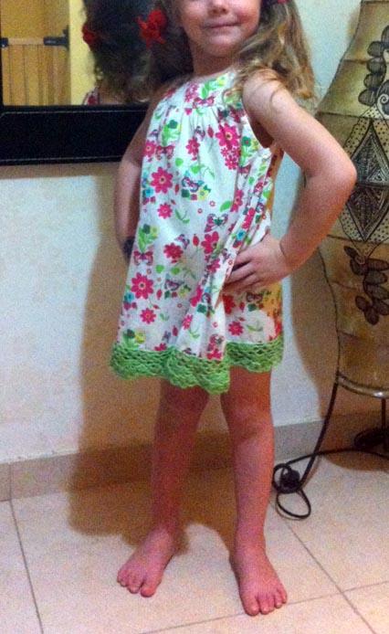 vestido cenefa