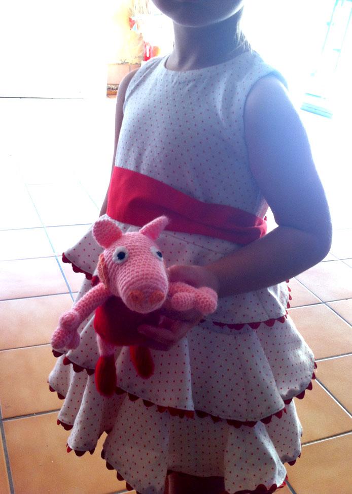 Peppa Pig Toy Crochet Tutorial / Pattern - YouTube | 973x694