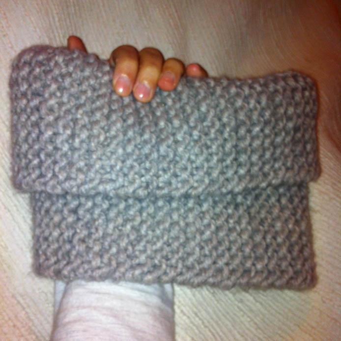 Cuello con dos agujas mislaboresypunto - Labores de punto de lana ...