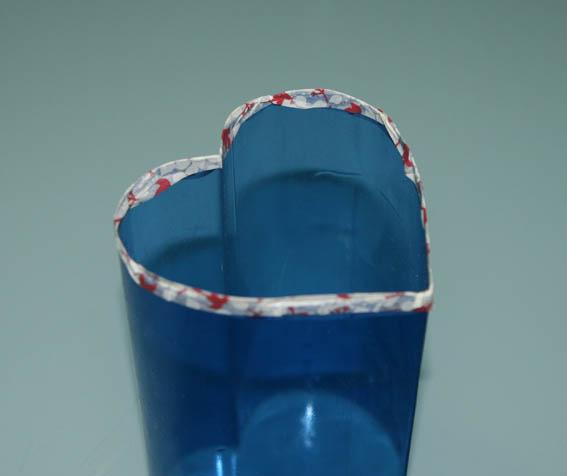 corazón botella plástico 31