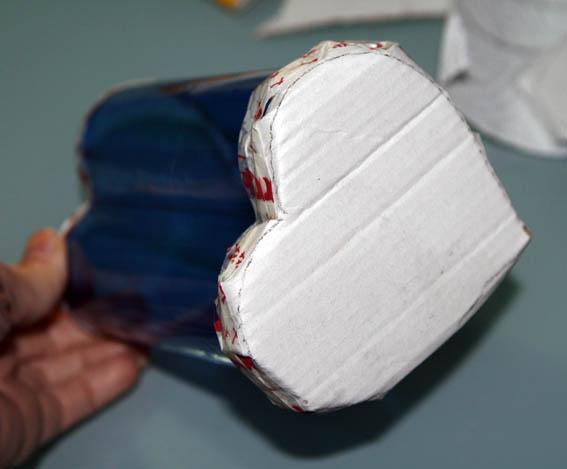 corazón botella plástico 37