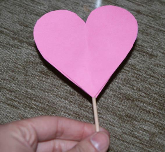 corazón cartulina 2