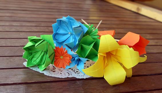 flores de papel 11