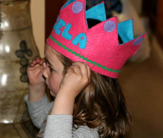 Ángela corona fieltro