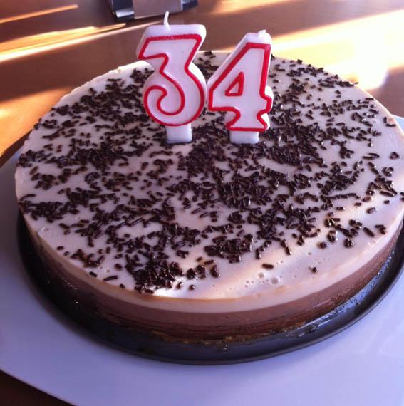 Tarta 3 chocolates 30