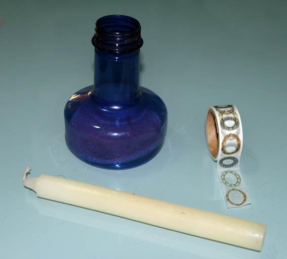 candelabro botella de plástico 15