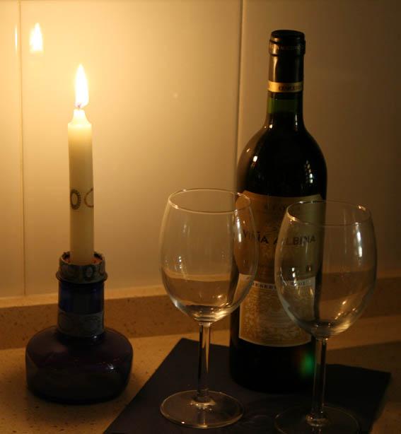 candelabro botella de plástico 4 - copia