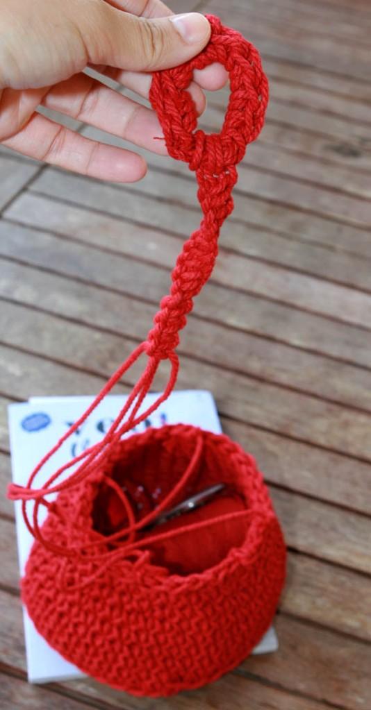 Cesto de cuerda 11