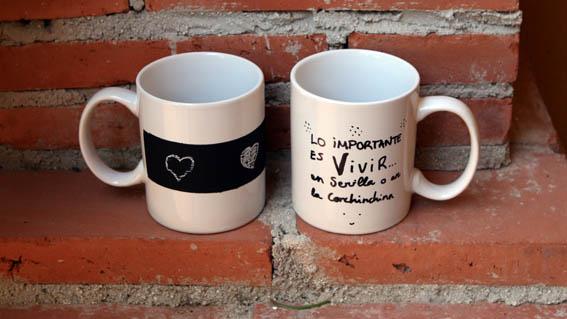 Decorar tazas mislaboresypunto - Como decorar una taza ...