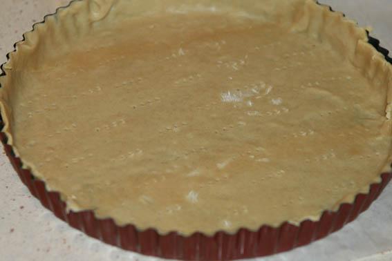 tarta masa quebrada y chocolate 14