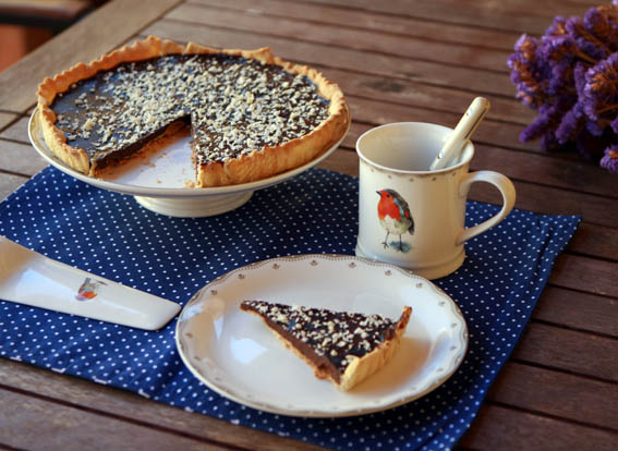 tarta masa quebrada y chocolate 3