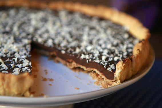 tarta masa quebrada y chocolate 9