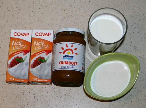 Helado dulce de leche 1