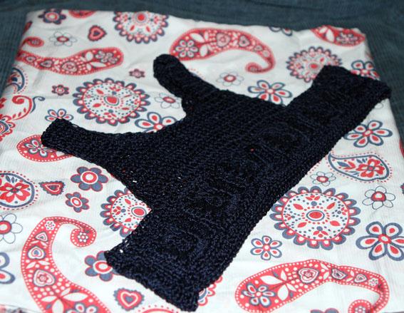 Vestido cuerpo crochet 1