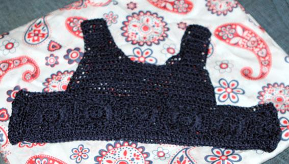 Vestido cuerpo crochet 14