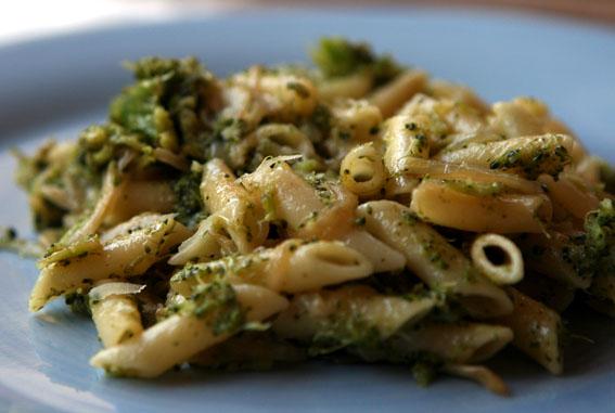 Macarrones con brócoli 10
