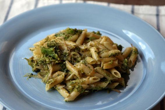 Macarrones con brócoli 11
