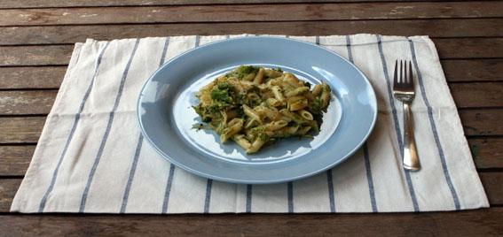 Macarrones con brócoli 13