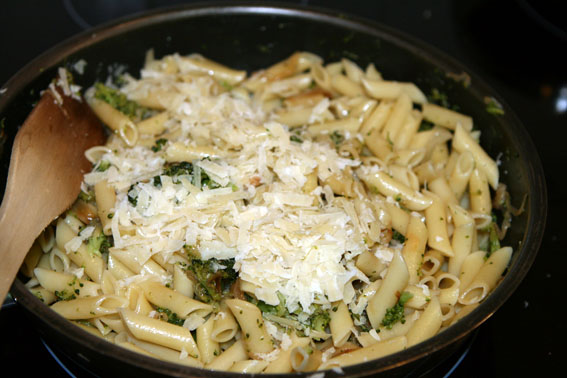 Macarrones con brócoli 16