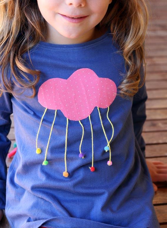 Camiseta nube 19