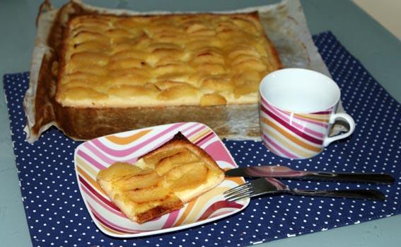 Tarta crema pastelera y manzana 25