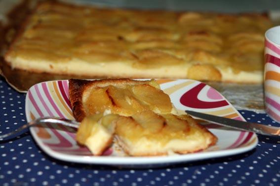 Tarta crema pastelera y manzana 5