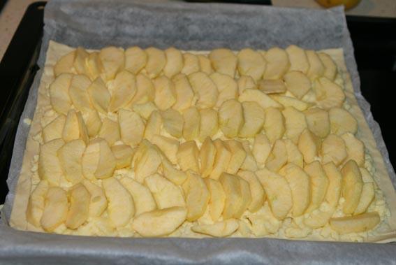 Tarta crema pastelera y manzana 9