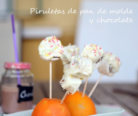 Piruletas de pan y chocolate 21