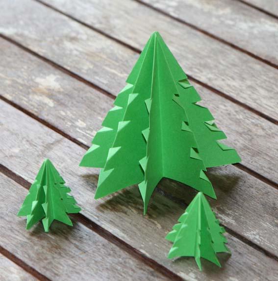 árbol origami 14