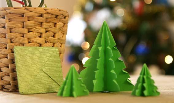 árbol origami 16