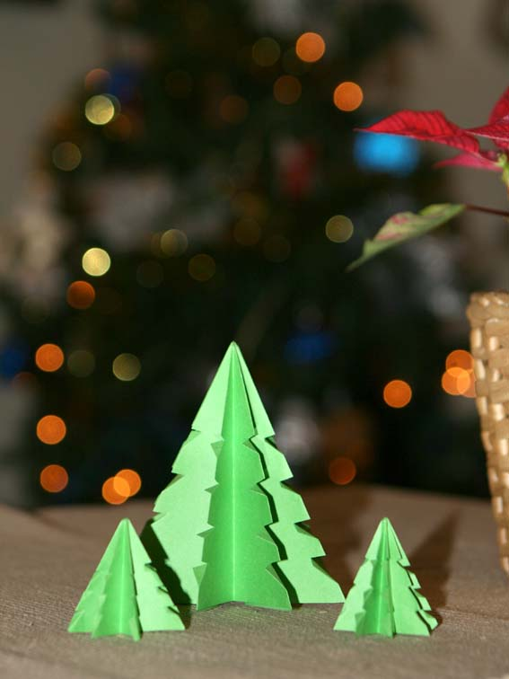 árbol origami 25