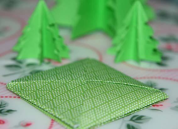 árbol origami 28