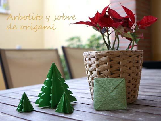 árbol origami 3c
