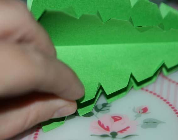 árbol origami 44