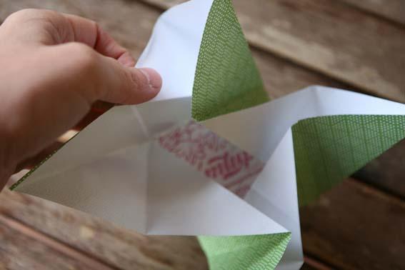 árbol origami 6