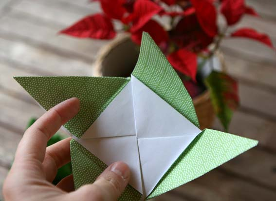 árbol origami 7