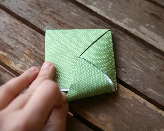 árbol origami 8
