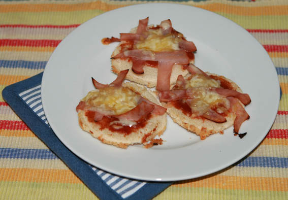 mini pizza pan molde 25