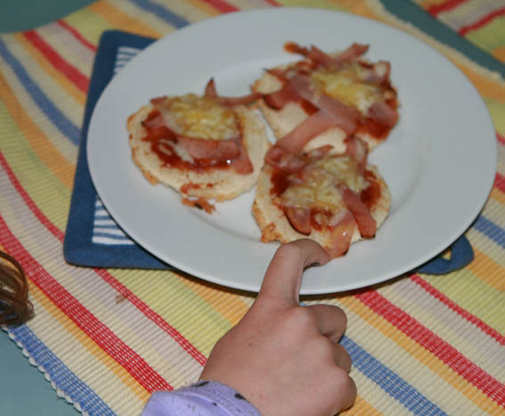 mini pizza pan molde 26