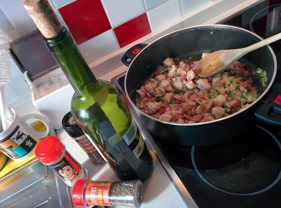 garbanzos con pollo y bacon 07