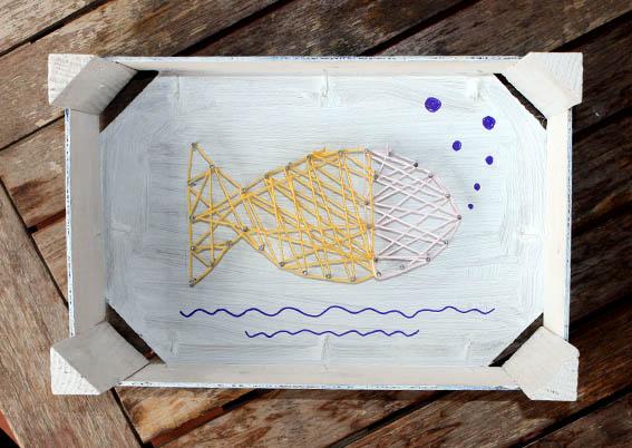 pez con clavos e hilo 10