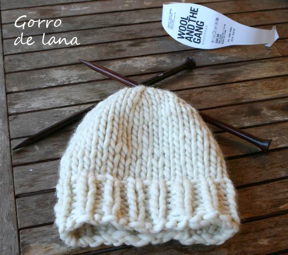 gorro de lana 37