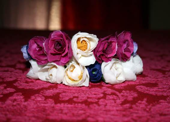 Diadema de flores 1